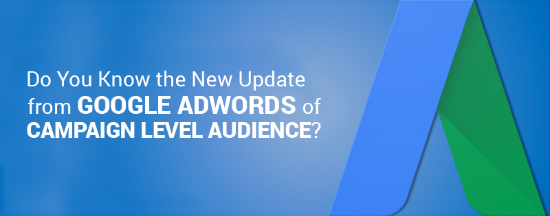 Do You Know the New Update from Google AdWords of Campaign Level Audience? It will Save Your Lots of Time!